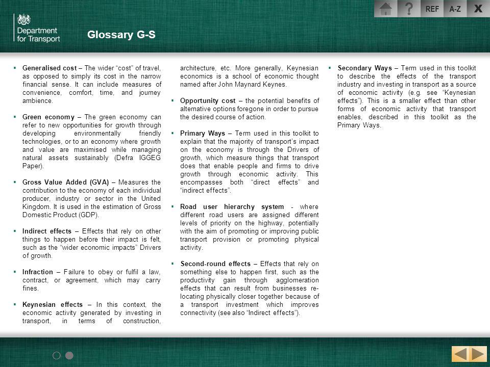 Glossary G-S