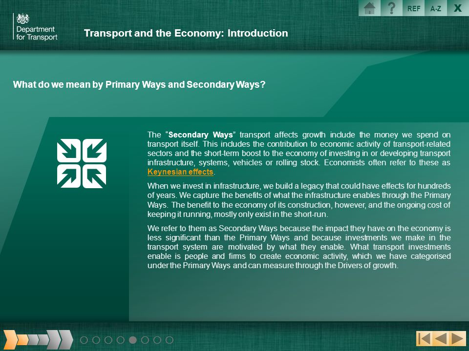 Transport and the Economy: Introduction