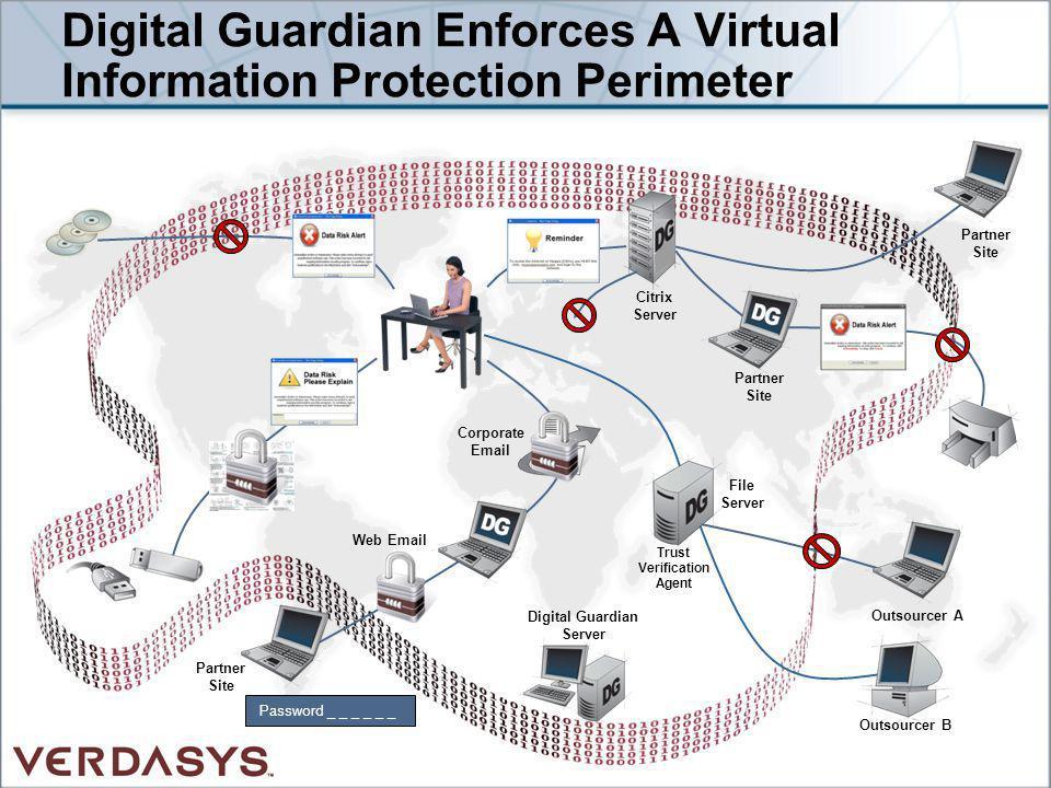 Digital Guardian Enforces A Virtual Information Protection Perimeter