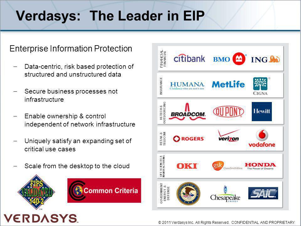 Verdasys: The Leader in EIP