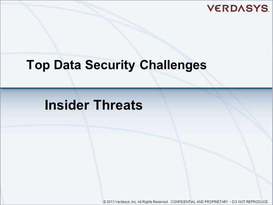 Top Data Security Challenges