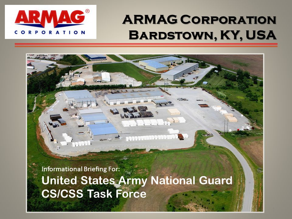 ARMAG Corporation Bardstown, KY, USA