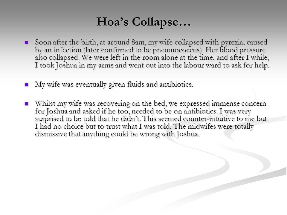 Hoa's Collapse…