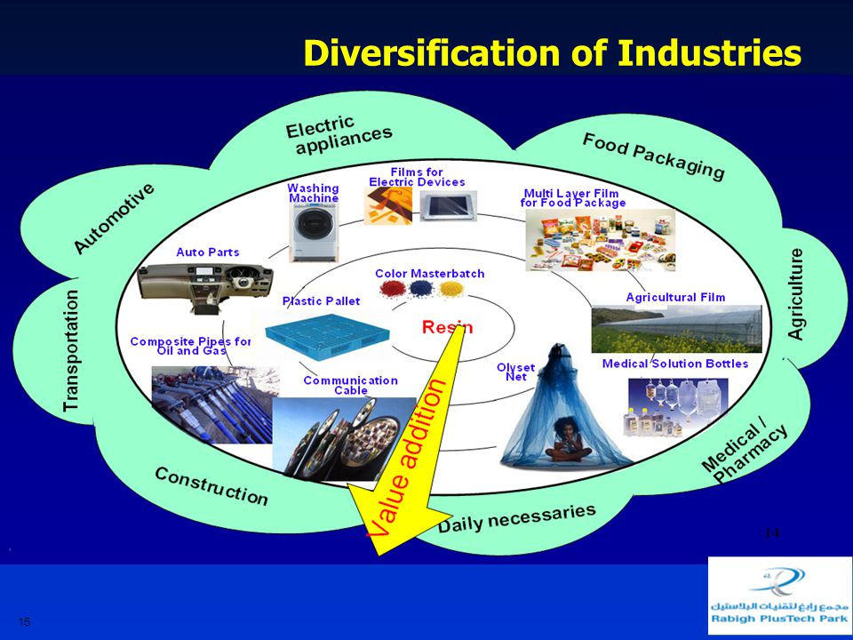 Diversification of Industries