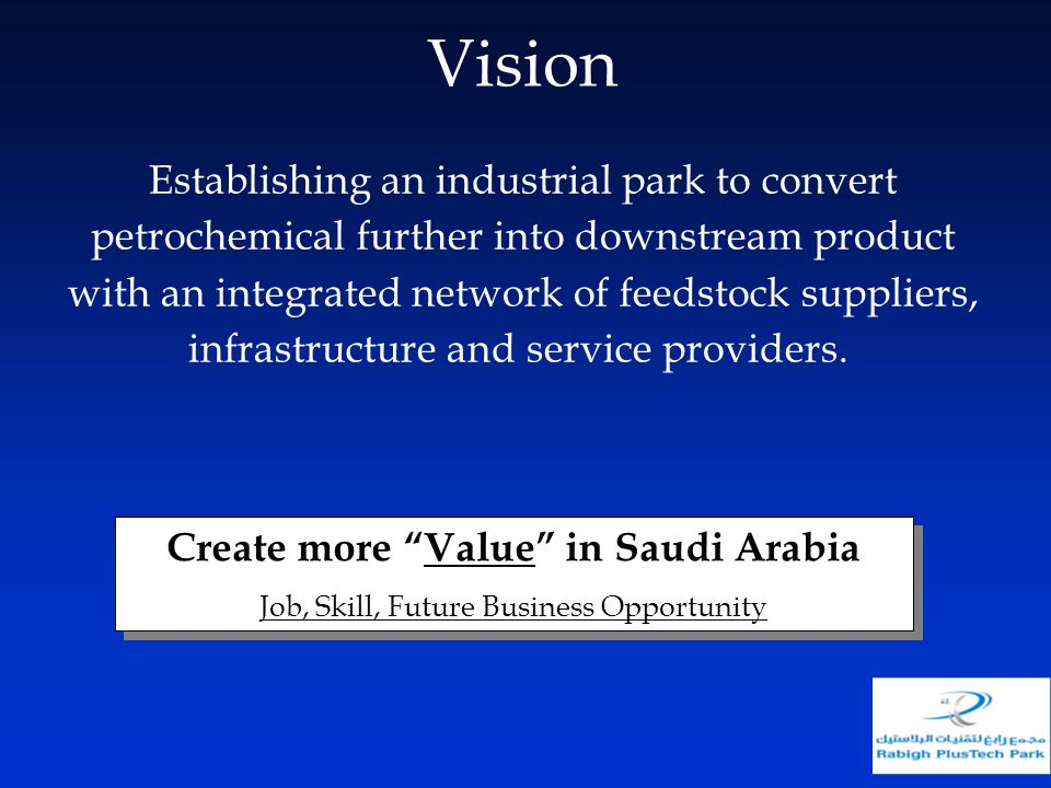 Create more Value in Saudi Arabia