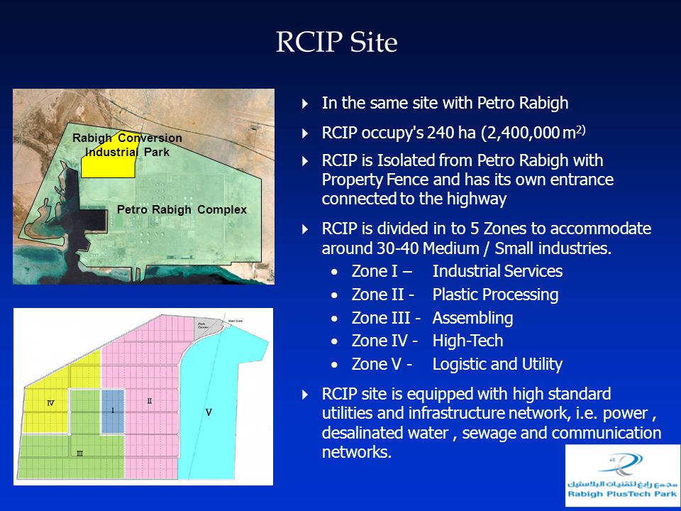 RCIP Site In the same site with Petro Rabigh