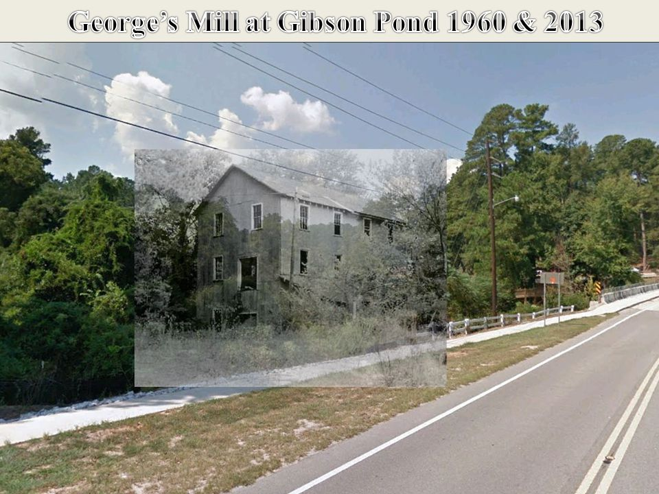 George's Mill at George's Pond 1940's - 1950's