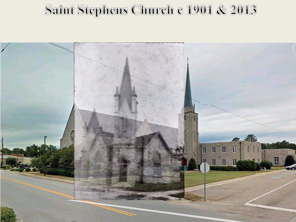 Same Location Saint Stephens Church c 2013