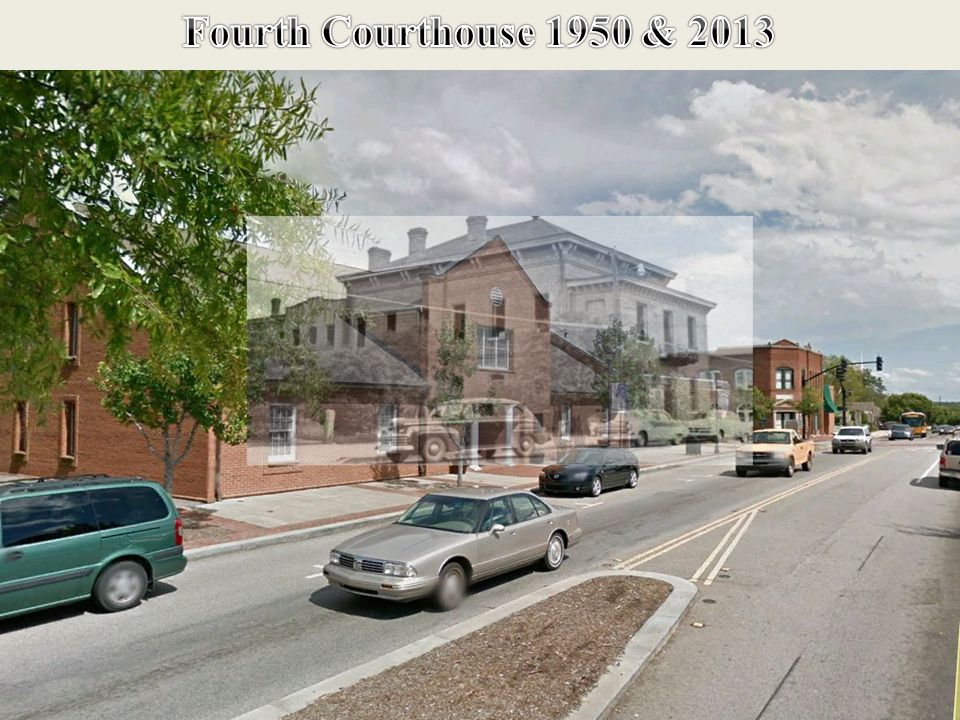 Same Location 2013 Fourth Courthouse 1950