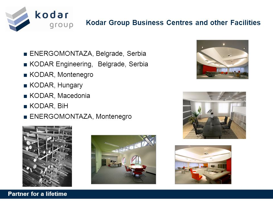 Kodar Group Business Centres and other Facilities