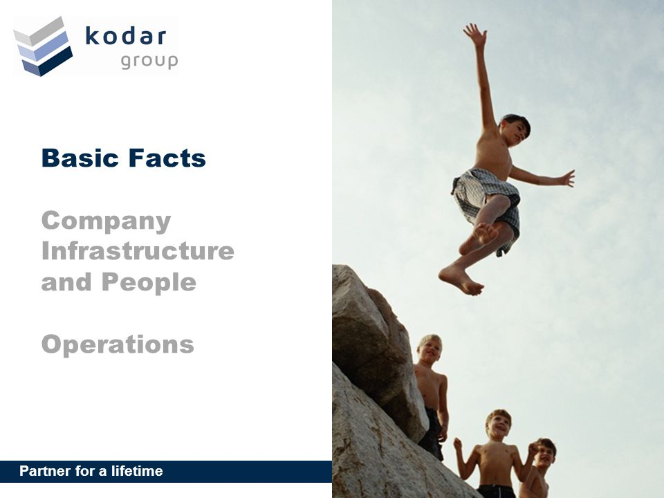 Basic Facts Company Infrastructure and People Operations