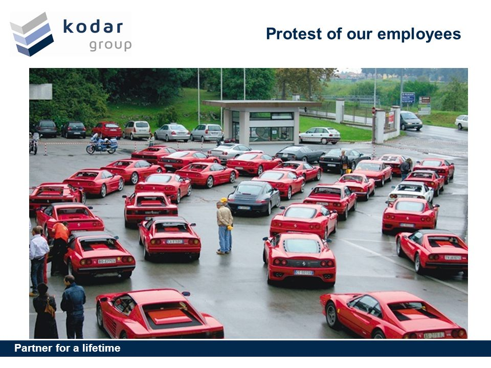 Protest of our employees