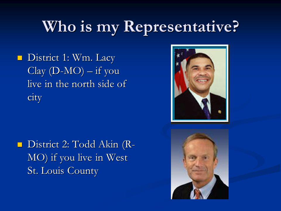 Who is my Representative