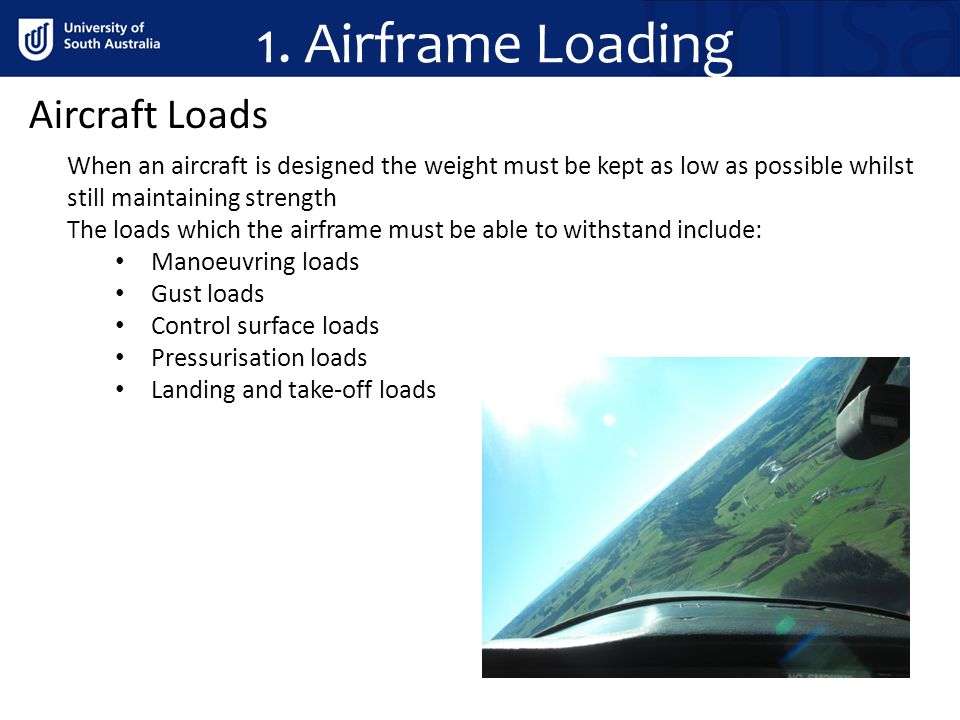 1. Airframe Loading Aircraft Loads