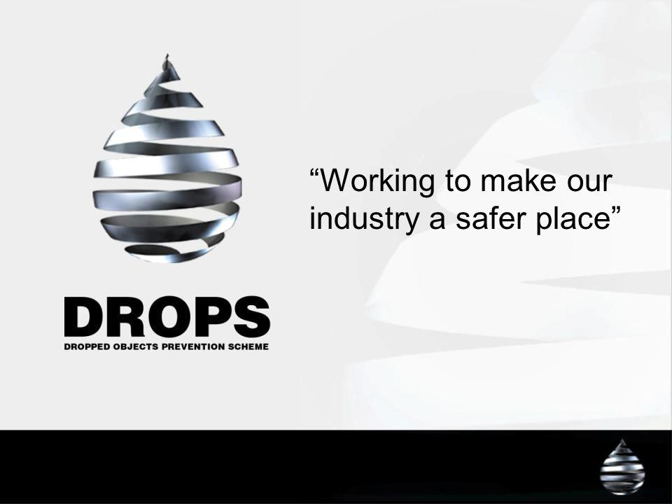 Working to make our industry a safer place