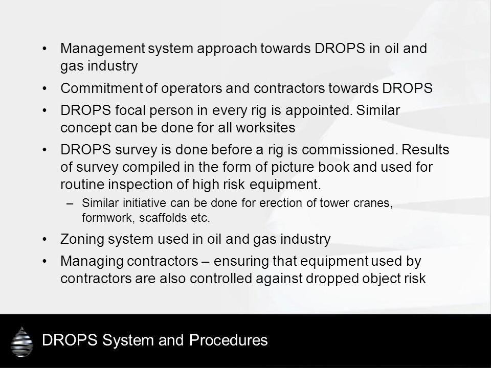 DROPS System and Procedures