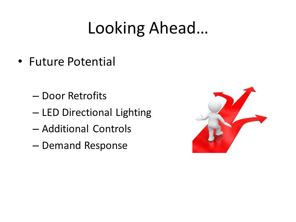 Looking Ahead… Future Potential Door Retrofits