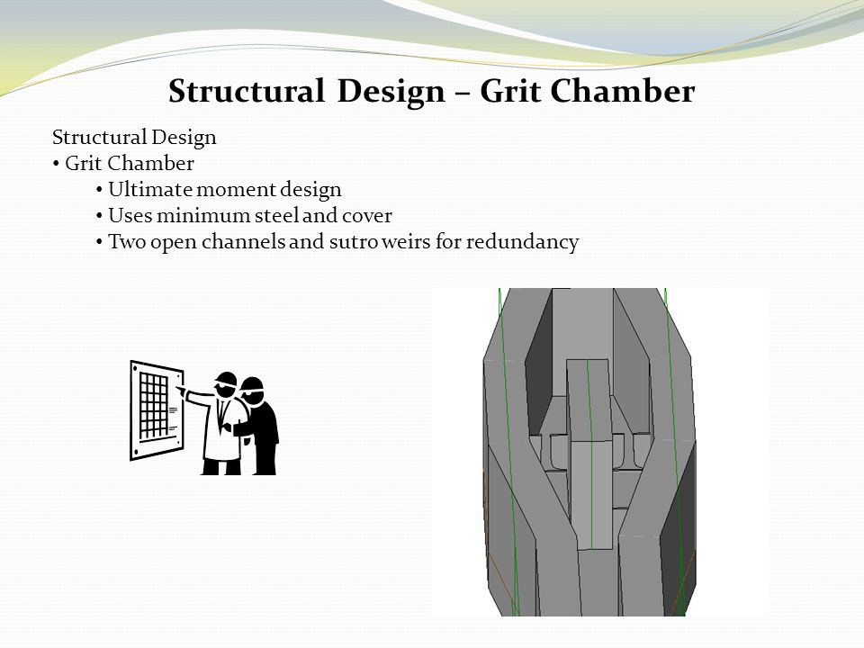 Structural Design – Grit Chamber