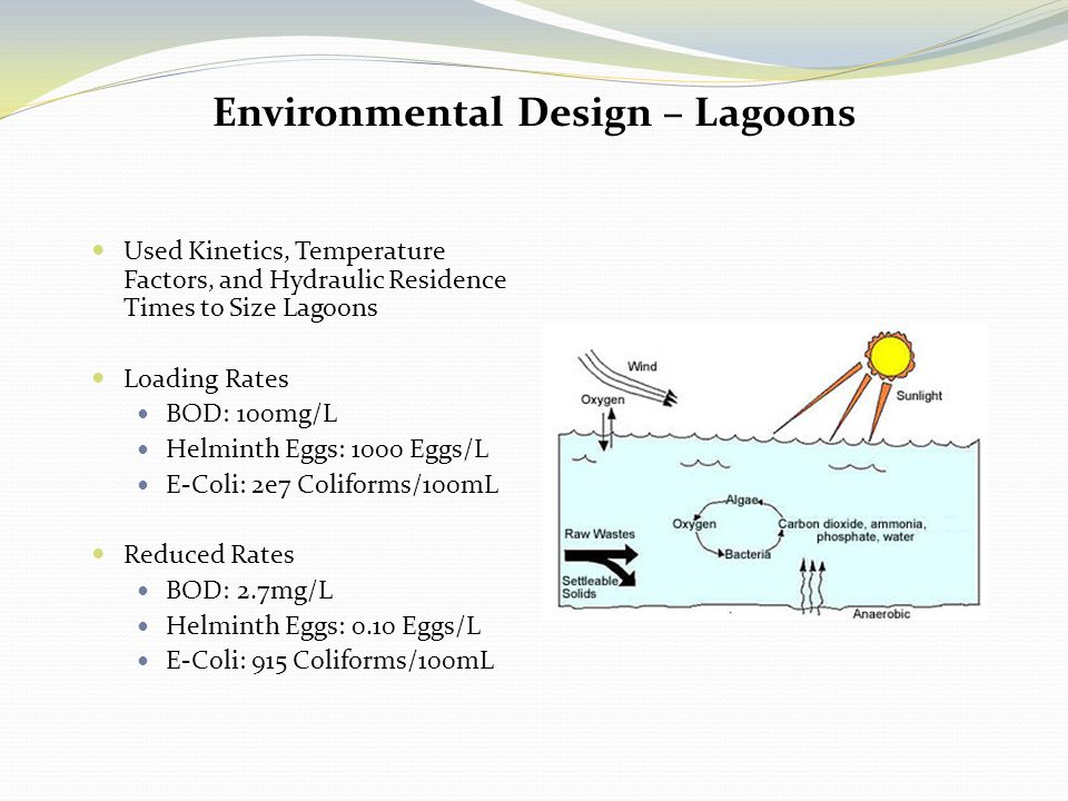 Environmental Design – Lagoons