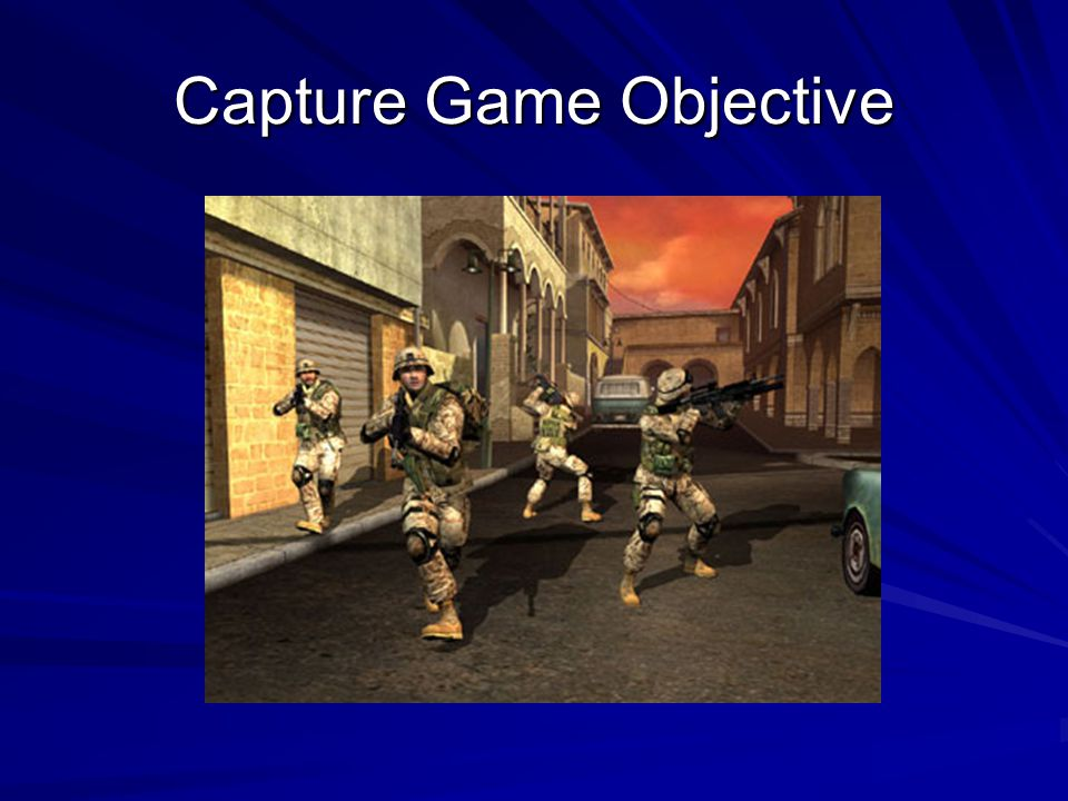 Capture Game Objective