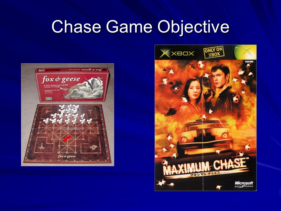 Chase Game Objective