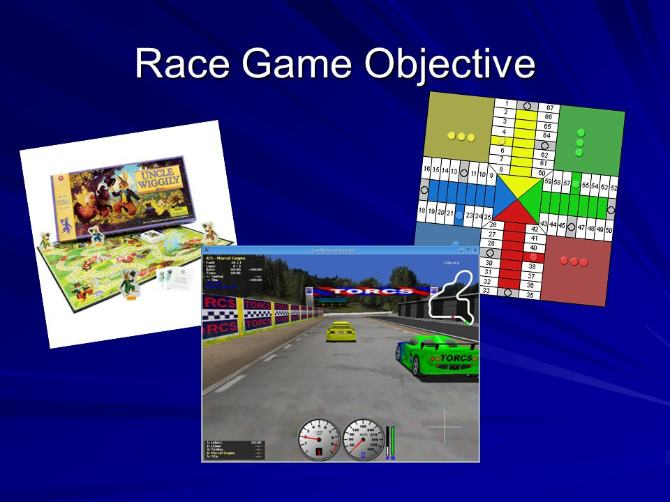 Race Game Objective