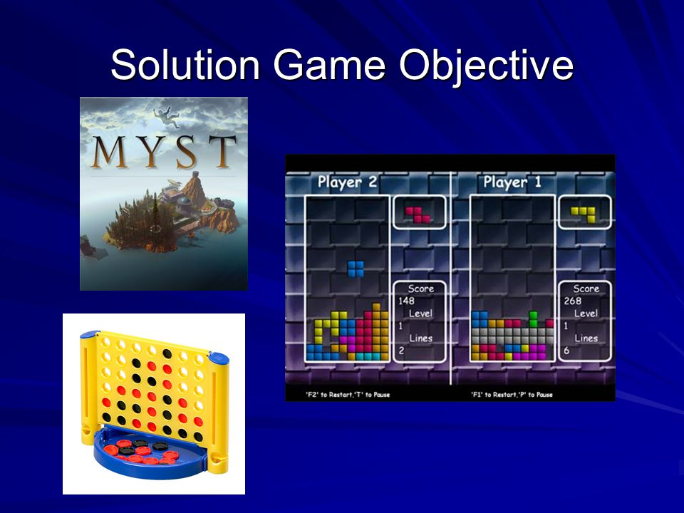 Solution Game Objective