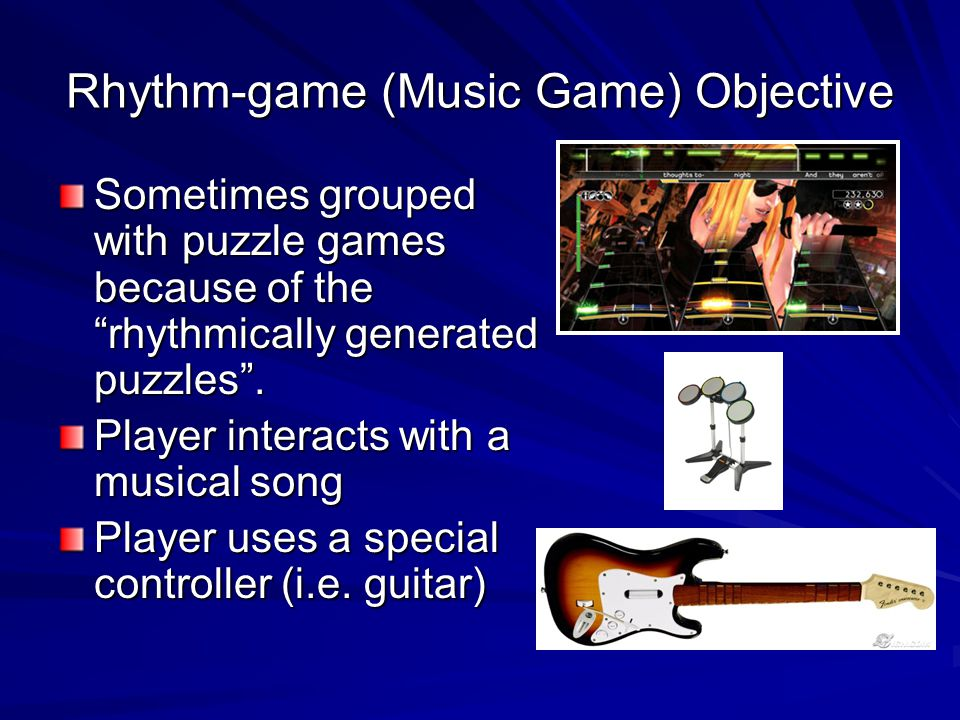 Rhythm-game (Music Game) Objective