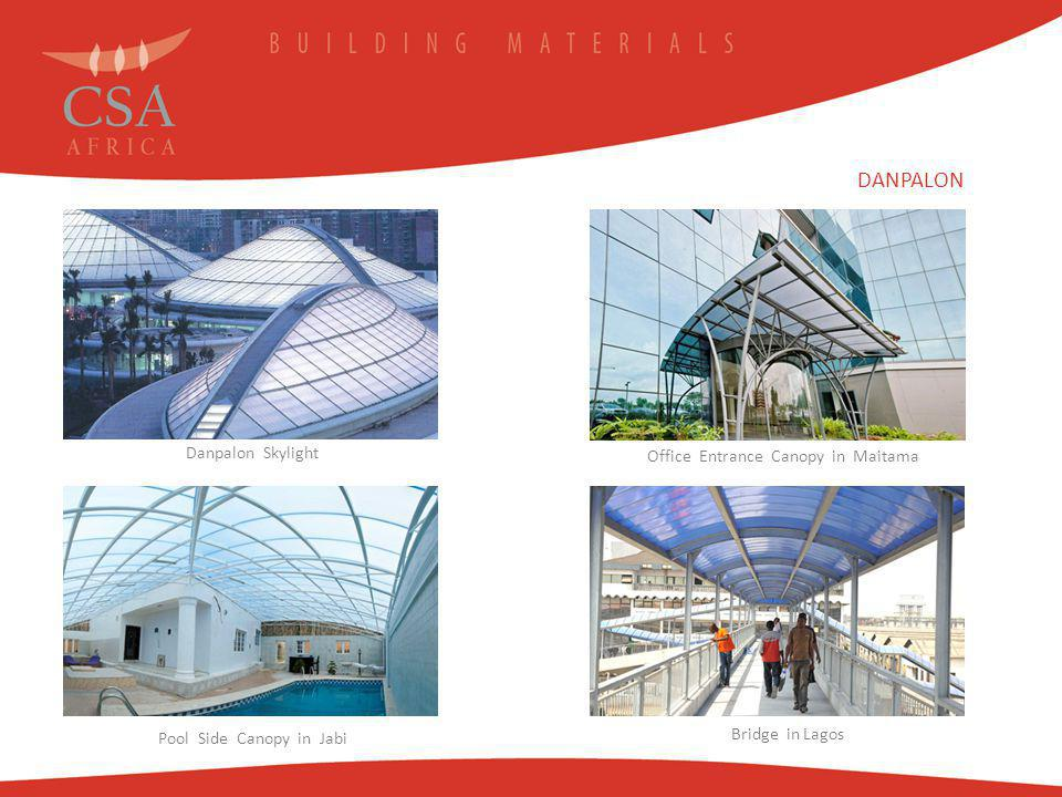 DANPALON Danpalon Skylight Office Entrance Canopy in Maitama