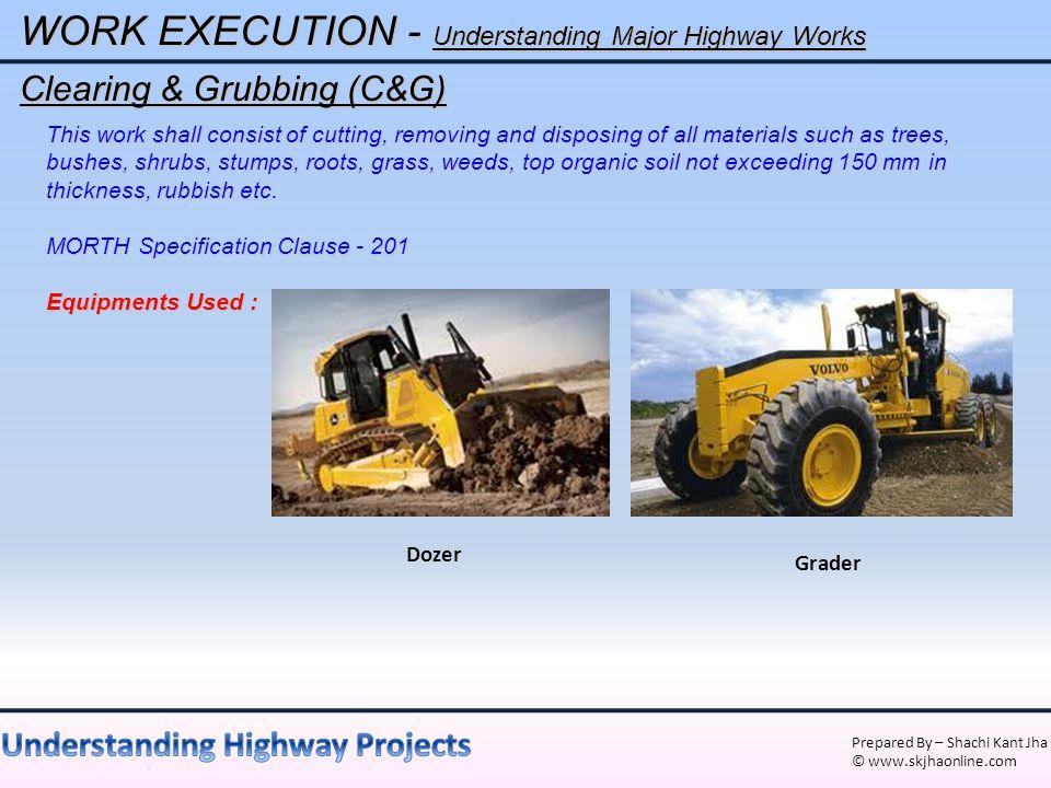 WORK EXECUTION - Understanding Major Highway Works