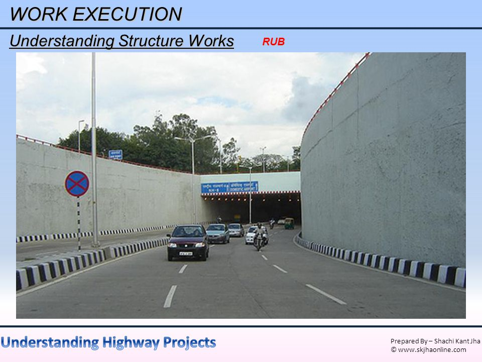 WORK EXECUTION Understanding Structure Works RUB