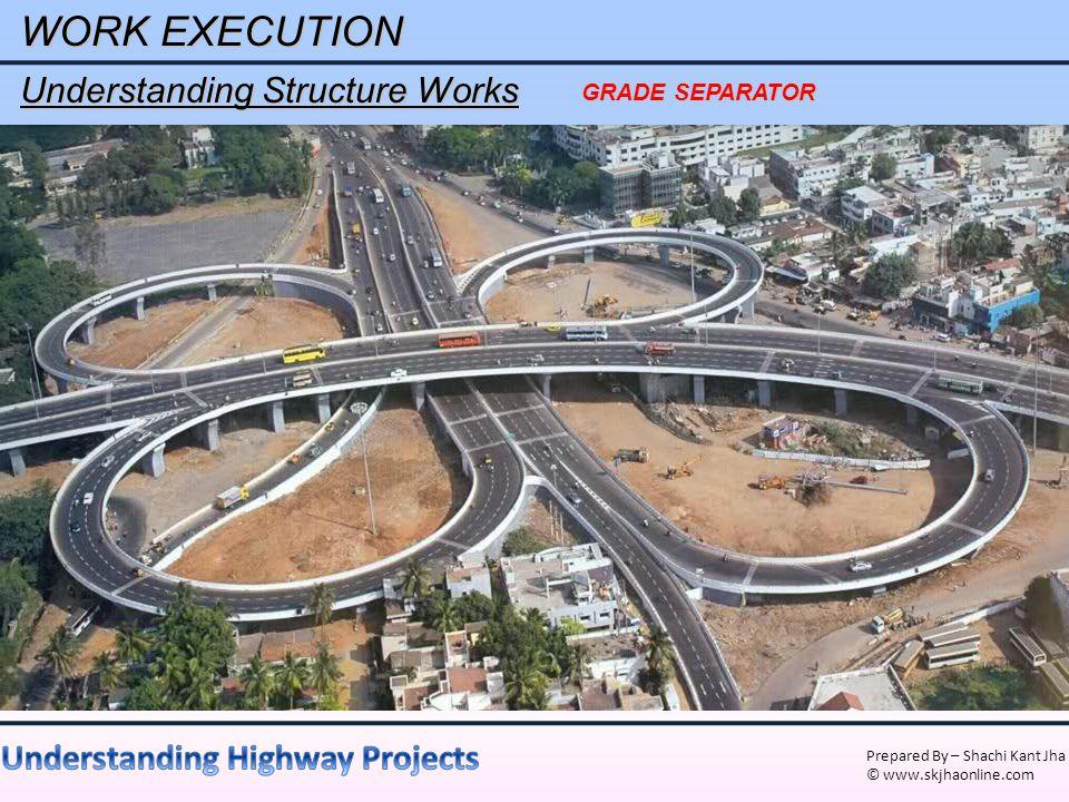 WORK EXECUTION Understanding Structure Works GRADE SEPARATOR