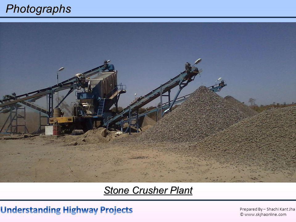 Photographs Stone Crusher Plant
