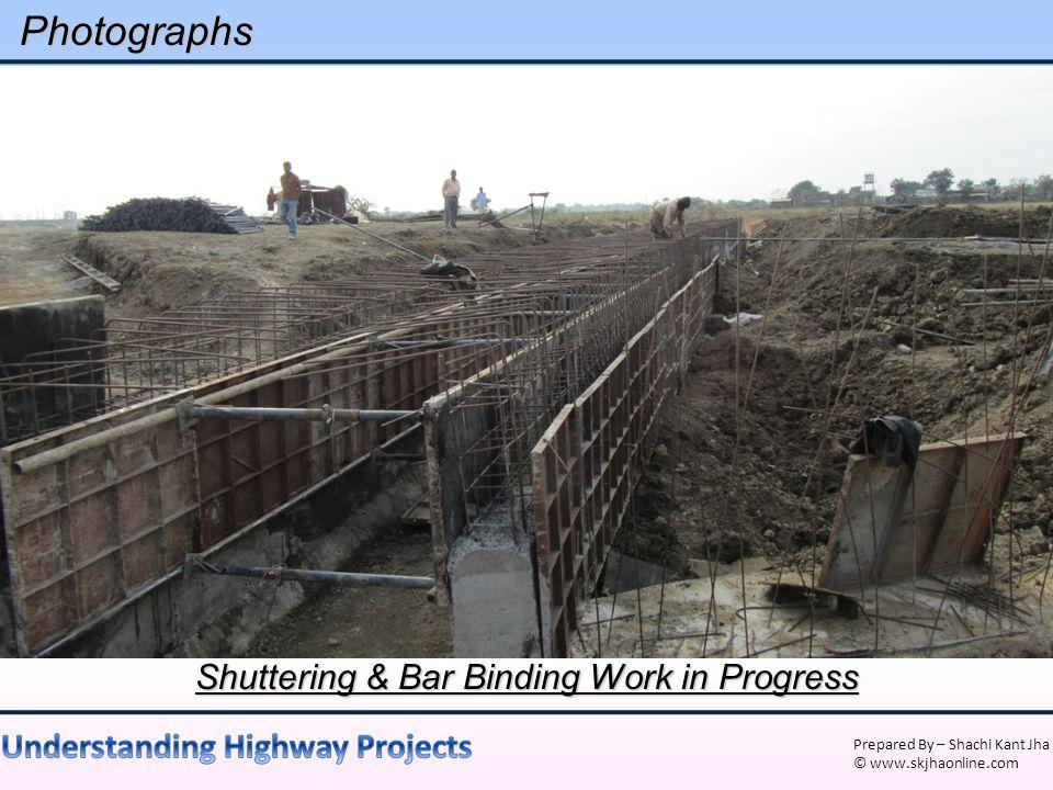 Shuttering & Bar Binding Work in Progress