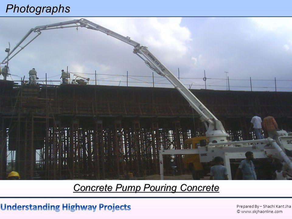 Concrete Pump Pouring Concrete