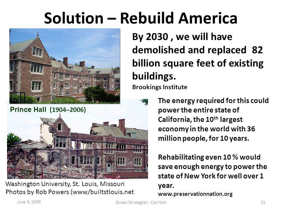 Solution – Rebuild America