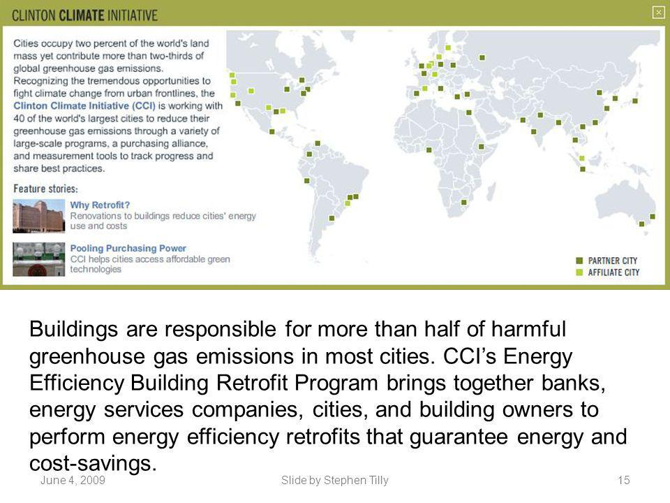 Buildings are responsible for more than half of harmful greenhouse gas emissions in most cities. CCI's Energy Efficiency Building Retrofit Program brings together banks, energy services companies, cities, and building owners to perform energy efficiency retrofits that guarantee energy and cost-savings.