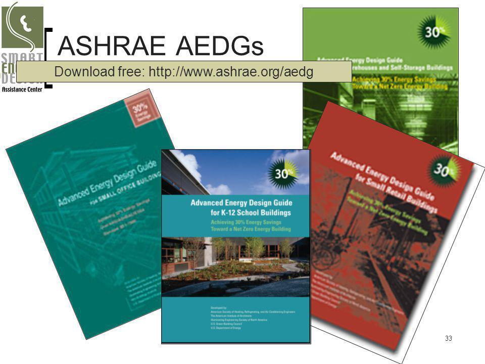 Download free: http://www.ashrae.org/aedg
