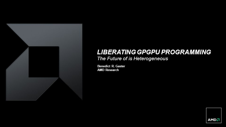Liberating GPGPU Programming