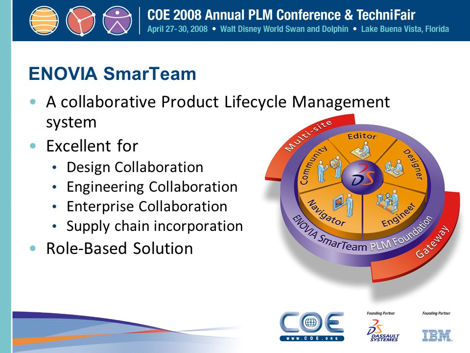 A collaborative Product Lifecycle Management system Excellent for