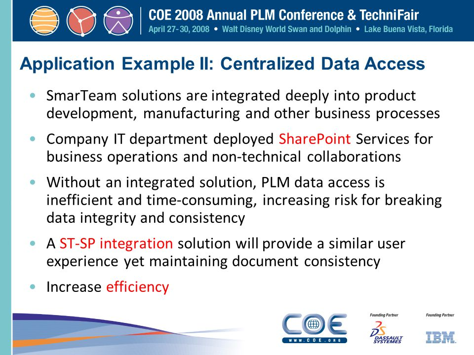 Application Example II: Centralized Data Access