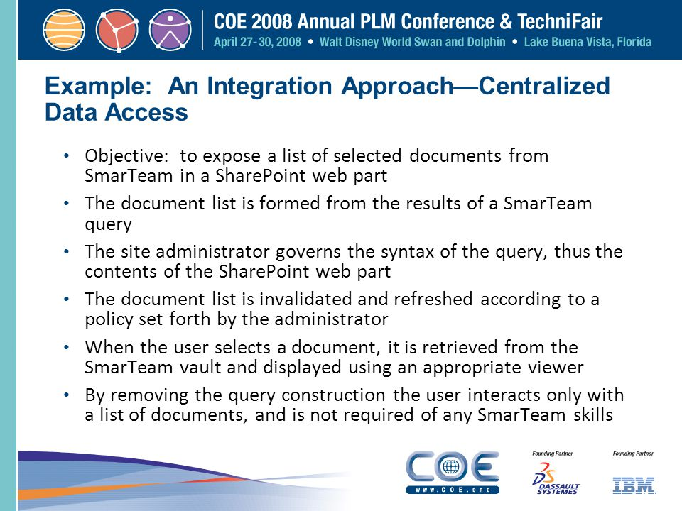 Example: An Integration Approach—Centralized Data Access