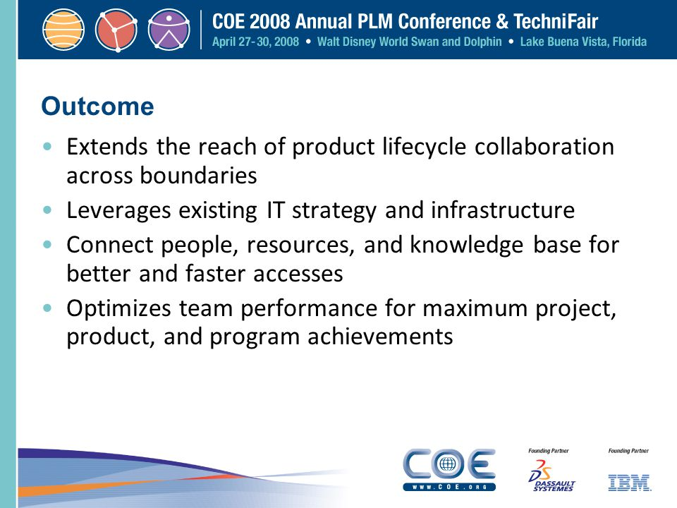 Extends the reach of product lifecycle collaboration across boundaries