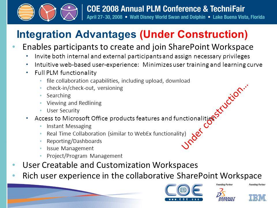 Integration Advantages (Under Construction)