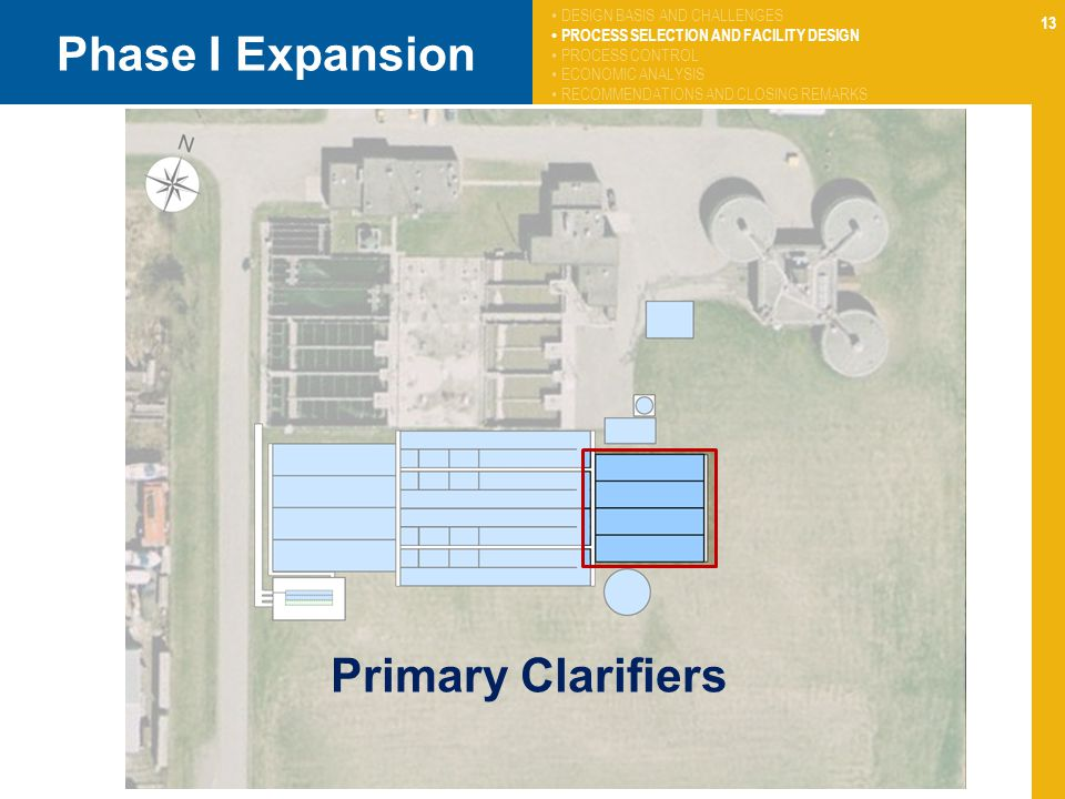 Phase I Expansion Primary Clarifiers