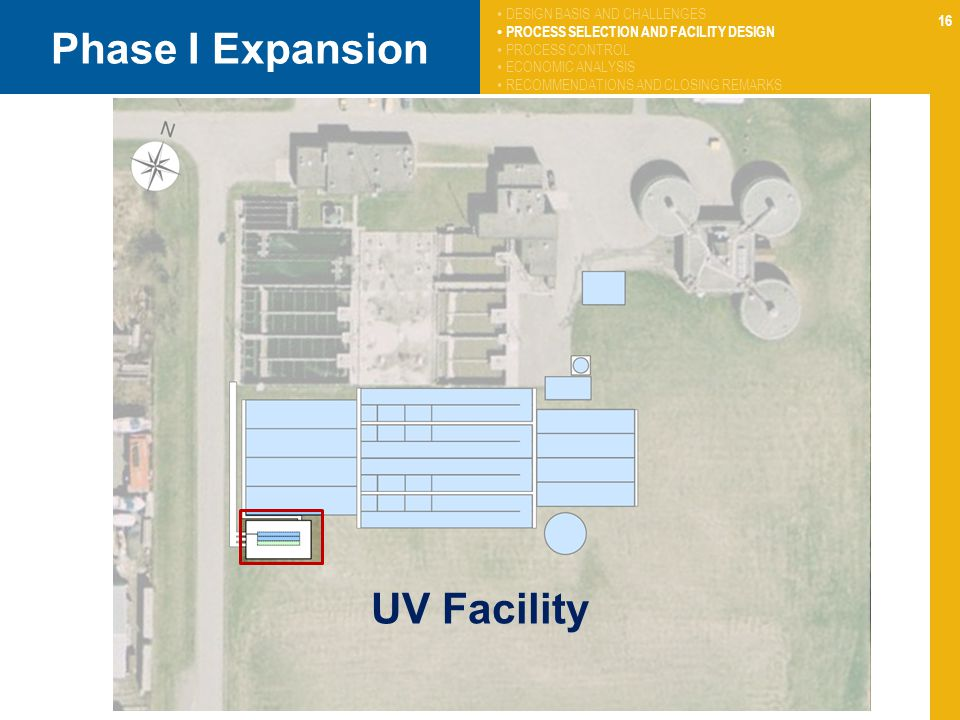 Phase I Expansion UV Facility