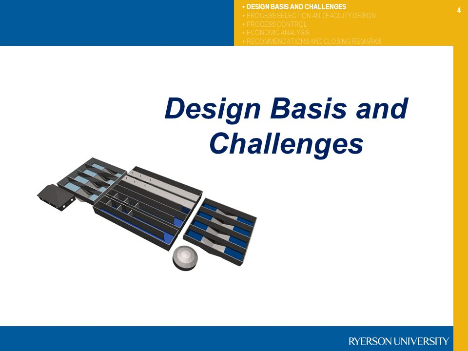 Design Basis and Challenges