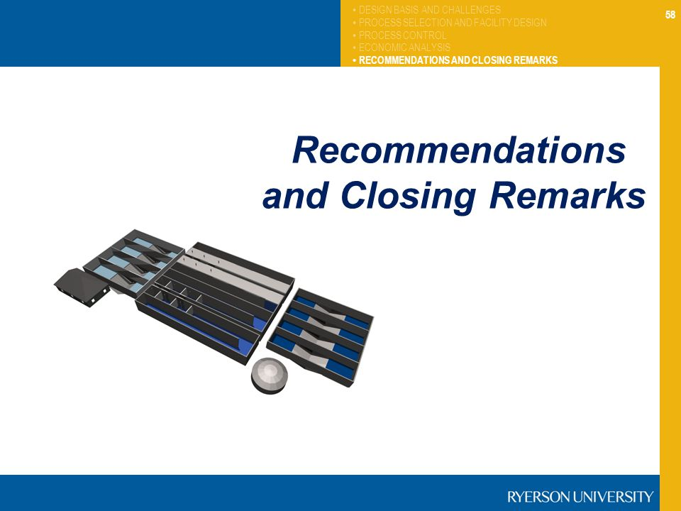 Recommendations and Closing Remarks