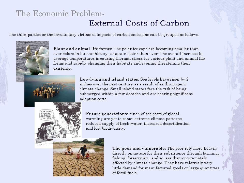 The Economic Problem- External Costs of Carbon