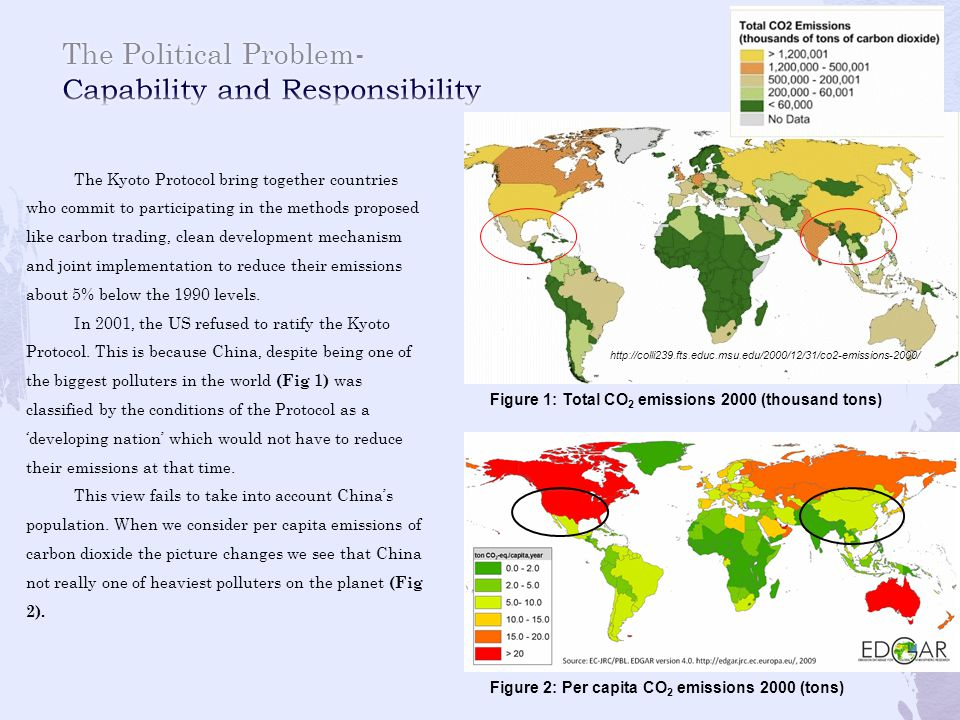 The Political Problem- Capability and Responsibility